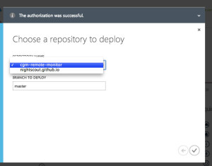 azure choose repository2