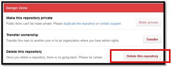 6 delete repository
