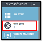 azure 2 websites