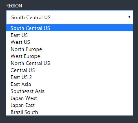 redundancy hosting locations